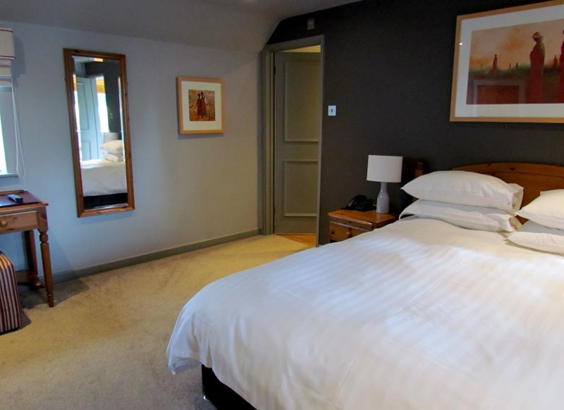 Double room at the Bird in Hand