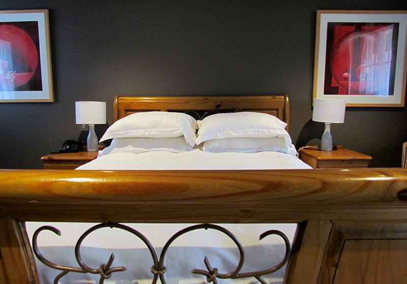 High standard bedrooms at the Bird in Hand